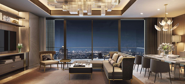 Icon-Siam-Mandarin-Oriental-Bangkok-condo-3-bedroom-for-sale-photo-1